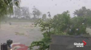 Cyclone Nisarga hits India's west coast