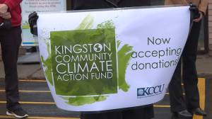 Finally kicking-off Kingston's Community Climate Action Fund (01:37)