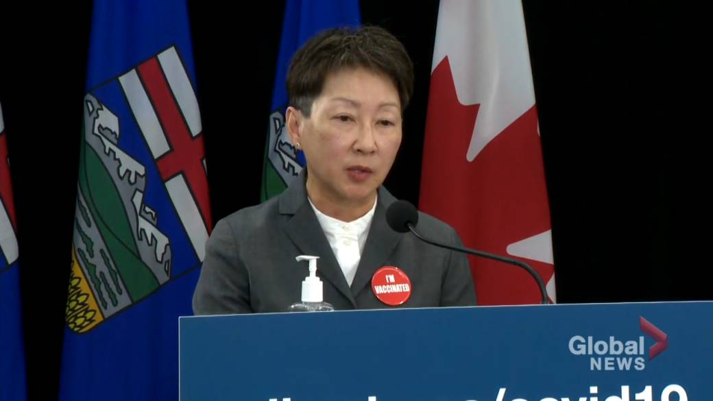Click to play video: 'COVID-19: Alberta health president 'more optimistic' as pressure on hospitals ease slightly'
