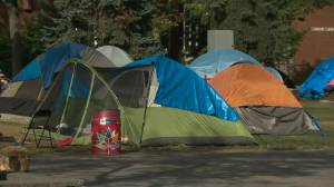Old Strathcona homeless camp told to move