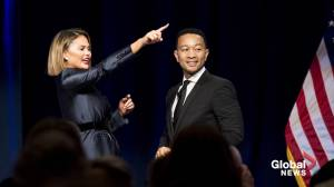 John Legend, Chrissy Teigen, Donald Trump engage in Twitter feud