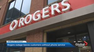 Rogers outage leaves customers without phone service (02:06)