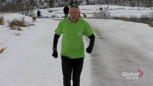 Cochrane's 'Marathon Man' overcomes health problems to wrap up efforts to help kids (01:41)