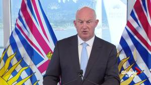 'The premier is briefed every single day':  Farnworth on Horgan's absence during B.C. wildfire season (03:13)