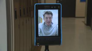 B.C. researcher brings video robots to long-term care homes (02:13)