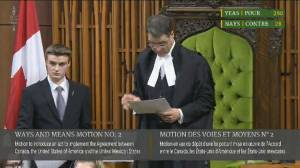 Preliminary motion on CUSMA passed in House of Commons
