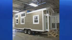 Popular Tiny Home Lottery returns to help those living with mental illness (06:11)