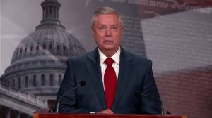 Republican Sen. Graham opposes decision to withdraw U.S. troops from Afghanistan (02:06)