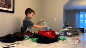 Seventh grader inspiring thousands to donate in Oromocto, N.B. (01:55)