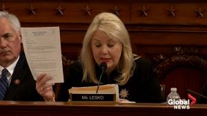 Trump impeachment hearings: Lesko calls hearings 'partisan impeachment'
