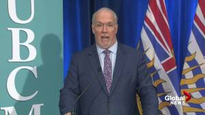 Premier John Horgan on B.C. restaurants ignoring vaccine card rules (02:45)