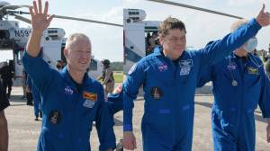 'Quite an odyssey': NASA astronauts speak after historic splashdown in SpaceX capsule