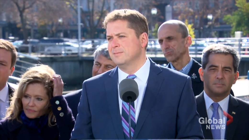 Scheer vows to push for interprovincial free-trade deal within 100 days as PM