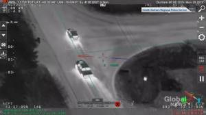 Carjacking suspect apprehended in dramatic Durham police chase video