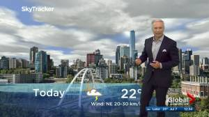 Edmonton afternoon weather forecast: Tuesday, July 7, 2020