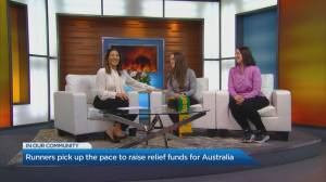 How runners are raising bushfire relief funds for Australia
