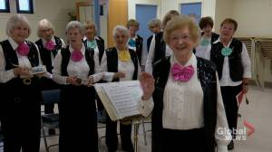 Hitting a high note: 91-year-old choir director inspires Calgary singers