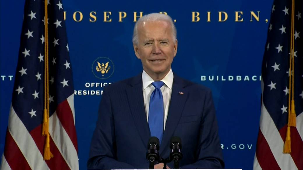 Click to play video 'U.S. election: Joe Biden unveils economic team'
