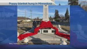 Manitoba poppy blanket honours veterans (03:55)