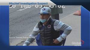 Police trying to identify man who left syringes near Toronto school (01:52)