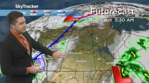Warm Thanksgiving weekend: Oct. 8 Saskatchewan weather outlook (02:14)