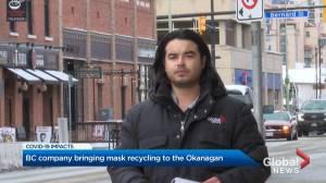 Mask recycling program coming to the Okanagan (02:20)