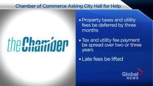 Saskatoon Chamber of Commerce asks for tax deferrals