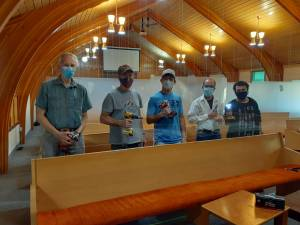 'Plexiglass project' provides added security for Lethbridge churchgoers during COVID-19