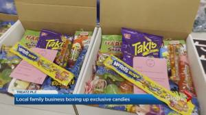 Toronto mom creates candy business with her little girls during COVID (03:14)