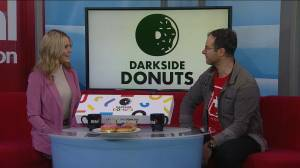 Go nuts for dark side donuts
