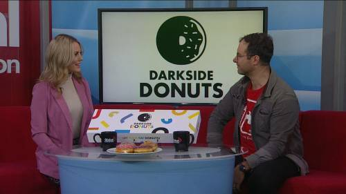 Go nuts for dark side donuts | Watch News Videos Online