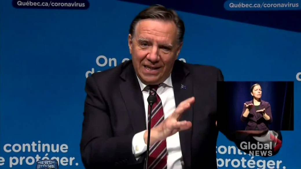 Click to play video 'Coronavirus: Quebec may loosen public health restrictions early February in some regions'