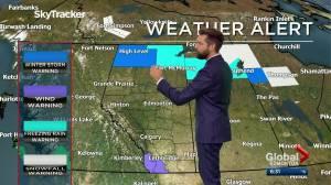 Edmonton weather forecast: Monday, November 2, 2020 (03:02)