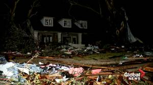 Homes damaged, trees uprooted as tornado tears through parts of Texas
