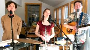 Nova Scotia folk band wins at the virtual 2021 Canadian Folk Music Awards (02:01)