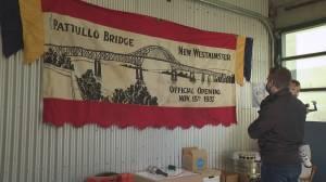 New West family has kept Pattullo Bridge opening day banner (01:36)