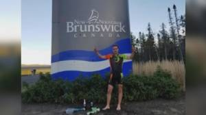 B.C. man completes cross-country journey for cancer research and mask awareness