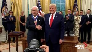 Trump awards Presidential Medal of Freedom to motor sports legend Roger Penske