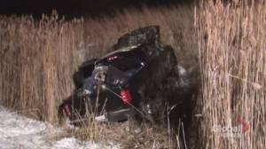2 injured in crash on Hwy. 401 in Port Hope