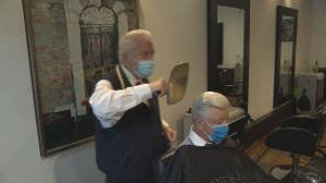 Legendary Vancouver barber back in business after COVID-19 closure