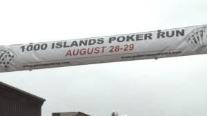 Poker Run takes to the water in Gananoque this weekend (01:41)