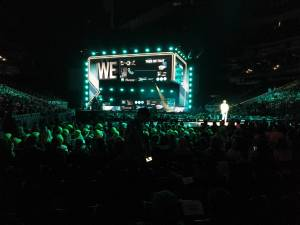 Thousands of young people gather in Edmonton for 2019 We Day