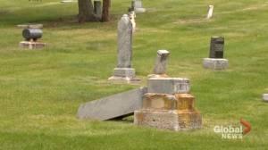 Investigation underway into vandalism at Calgary's Union Cemetery