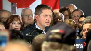 Federal Election 2019:  Sheer says Conservatives will look after Veterans