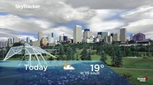 Edmonton early morning weather forecast: Friday, September 13, 2019