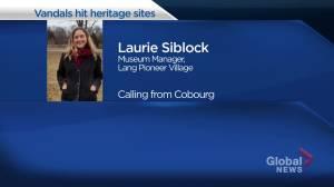 Vandals hit two treasured heritage sites near Keene