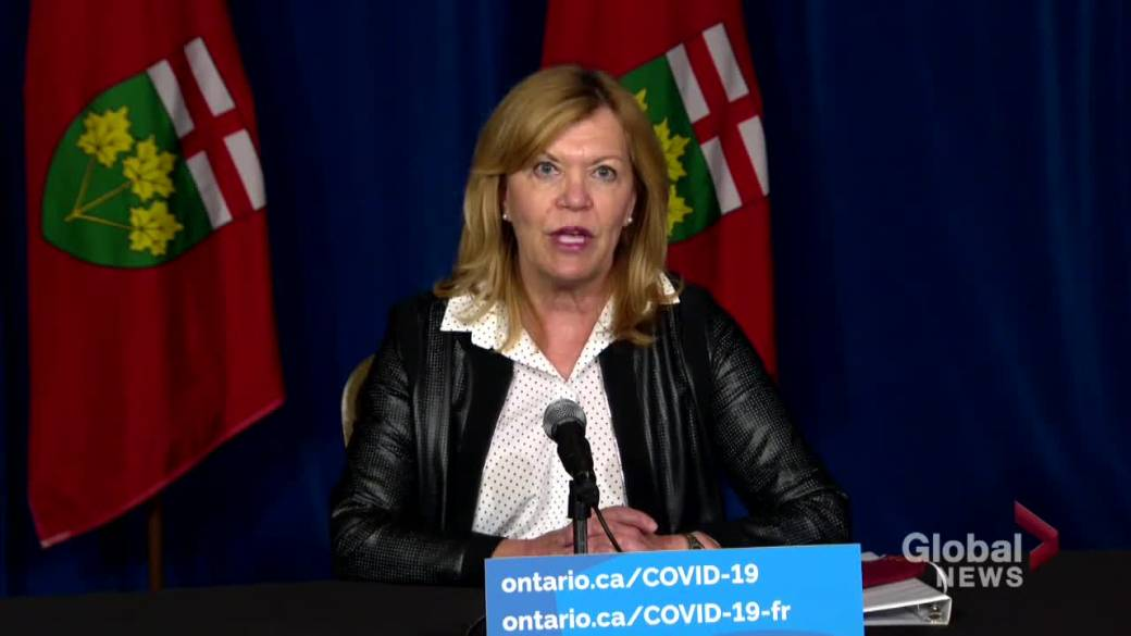 Click to play video: 'Ontario expands 2nd dose COVID-19 vaccine eligibility for 7 Delta hot spots starting June 14'