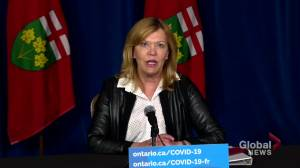 Ontario expands 2nd dose COVID-19 vaccine eligibility for 7 Delta hot spots starting June 14 (01:15)