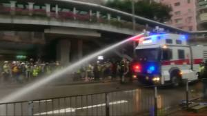 Hong Kong leader Carrie Lam warns violence becoming serious