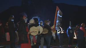 Families of missing women demand answers at North Okanagan rally (02:33)